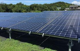 太陽光発電の施工